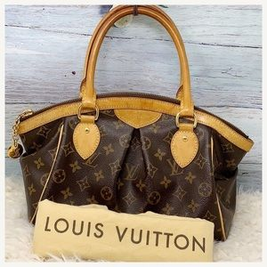 Authentic Louis Vuitton Monogram Tivoli Satchel